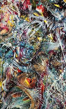 Conception - Huile sur toile-Abstrait surréalite _ www.plazamargarita