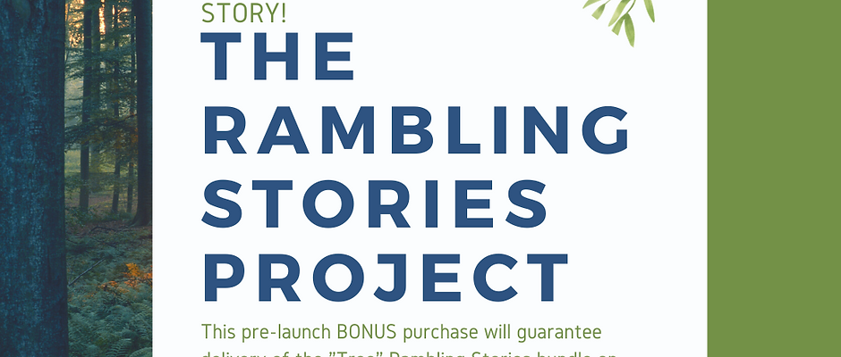 Rambling Stories Pre-Launch Story