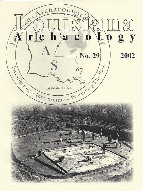 Number 29, 2002 (published 2010)
