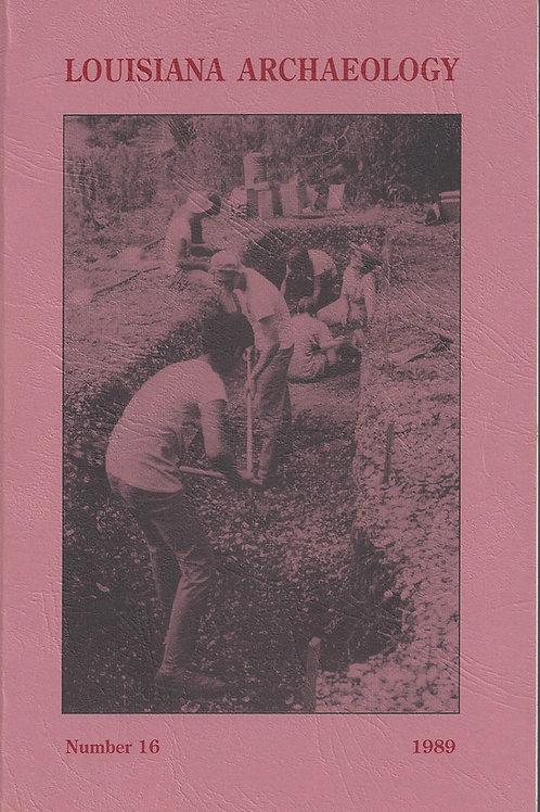 Number 16, 1989 (published 1994)