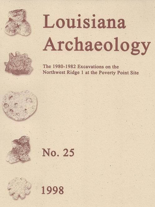Number 25, 1998 (published 2003)
