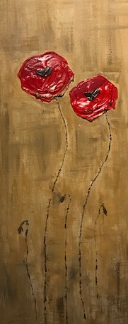 Poppies entwined 100 x 30 cm.jpeg