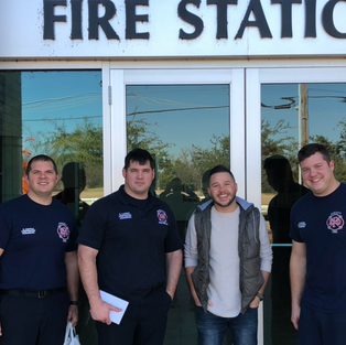 Blessed every Rowlett Firefighter with a free meal!