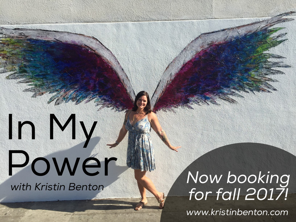 """In My Power"" - Now Booking!"