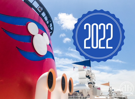 Disney Cruise Line Announces Early 2022 Itineraries!