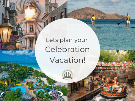 You deserve a Celebration Vacation this summer!