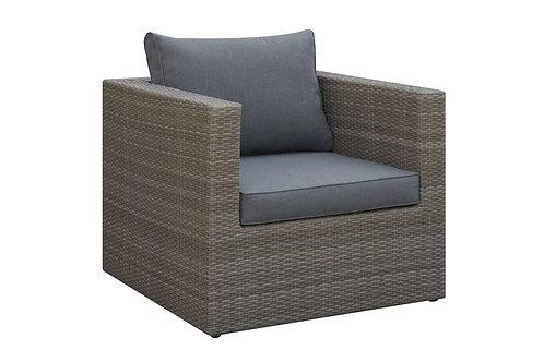 Arm Chair Honey/Grey
