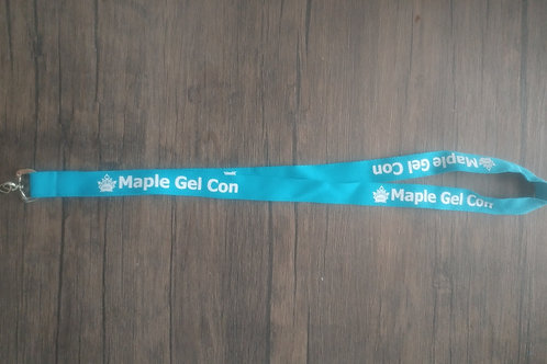 Maple Gel Lanyard