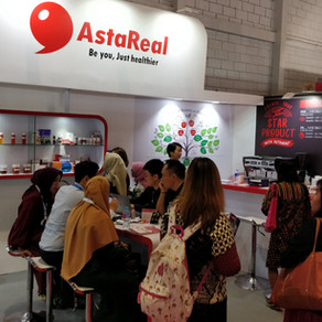 Food Ingredients Asia 2018 with AstaReal in Jakarta