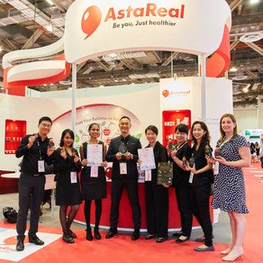 VitaFoods Asia 2018 in Singapore: AstaReal Won the Award for Best Functional Beverage!