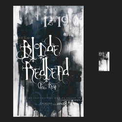 Blonde Redhead_Concert Poster_Type_Font_