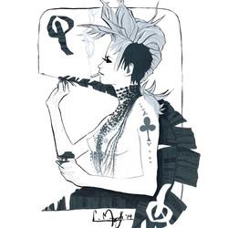 Queen_Queen of Spades_Illustration_Gouac
