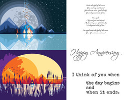 Moon_Sunset_Illustration_Greeting Card_A