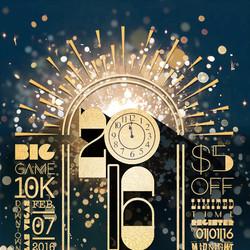 New Years_Design_Graphic Design_Big Game