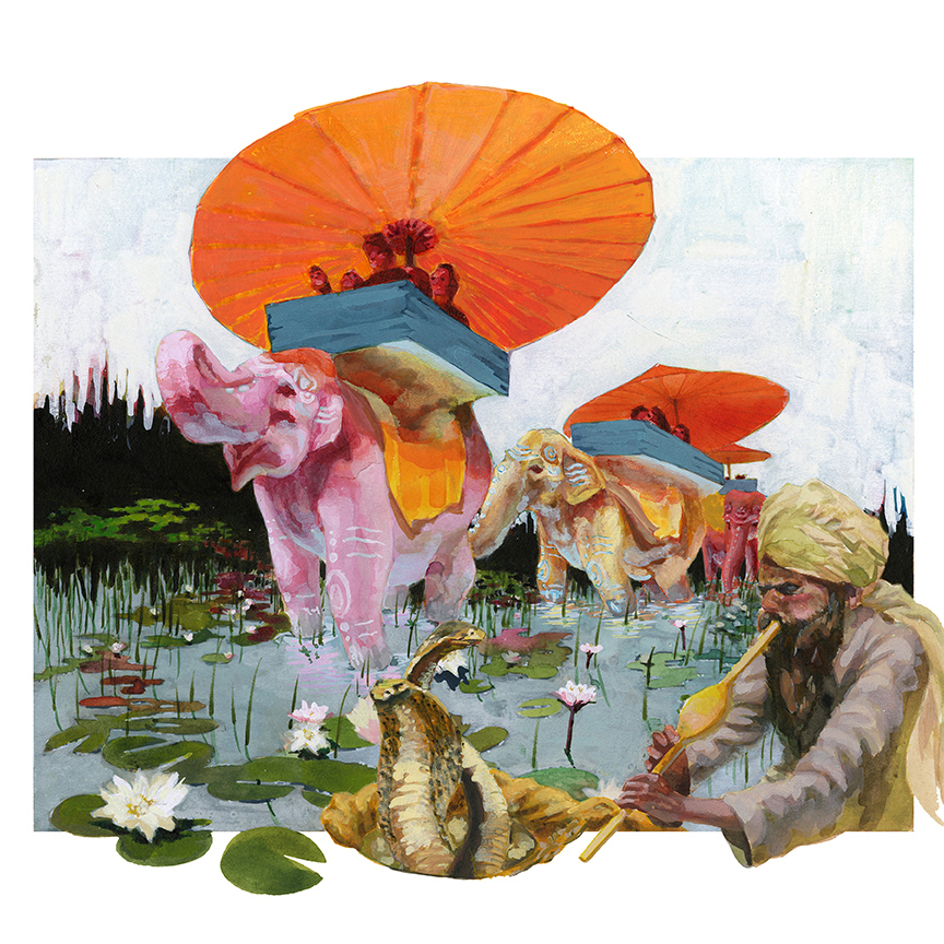 Adventure_Elephant_Pink Elephant_Waterli