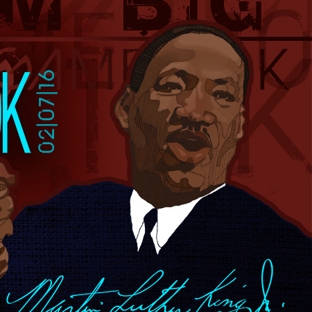 Martin Luther King_Ad_Illustration_Vecto