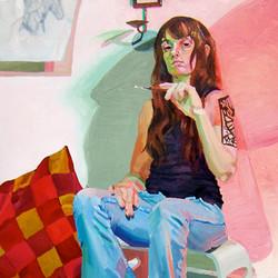 Self Portrait_Art_Painting_Painter_Oil_C