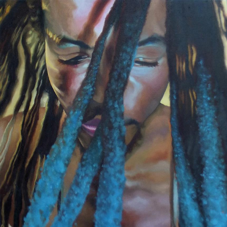 Cold_Art_Painting_Oil Painting_Portrait_
