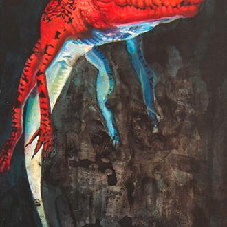 Alligator_Crocodile_Art_Painting_Illustr