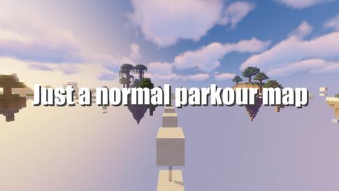Just a normal parkour map