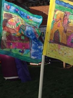 Textile Banner Parade