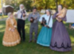Civil War Era Dance Band