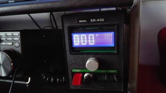 Rotor Kenpro KR400 modified with digital display and COM port control