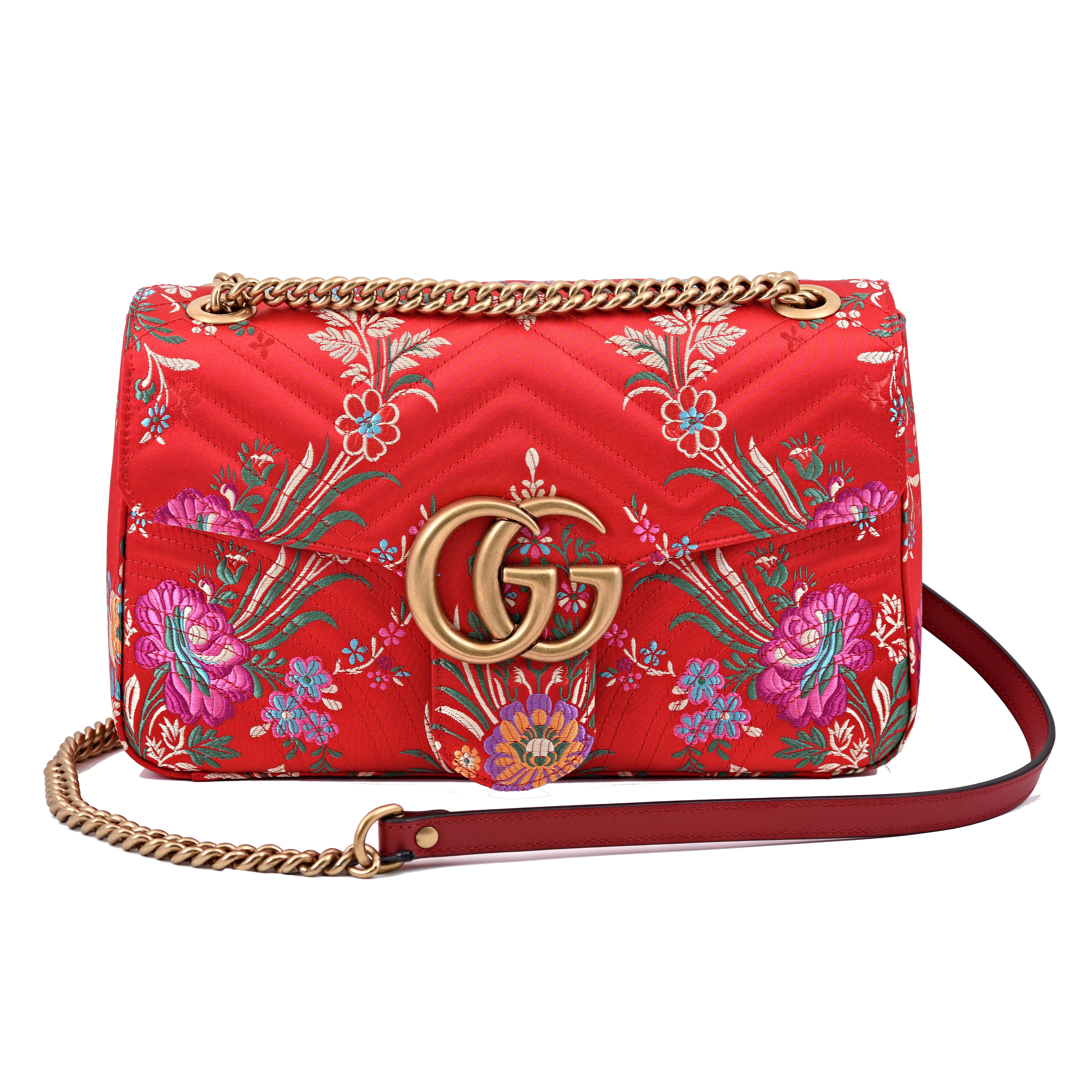 459e6adcd8b4b9 Gucci Marmont GG Medium Quilted Shoulder Bag