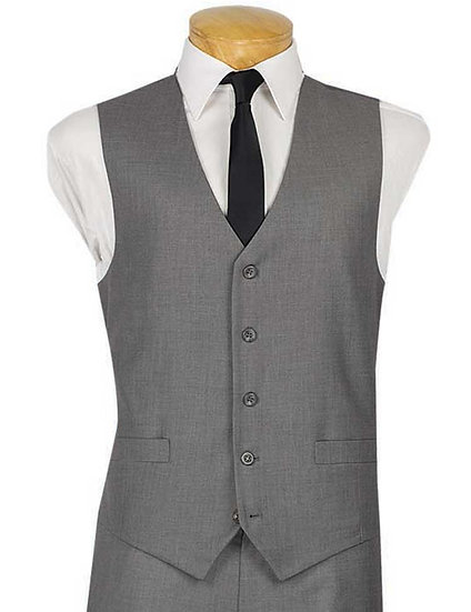 5 Button, Single breasted vest