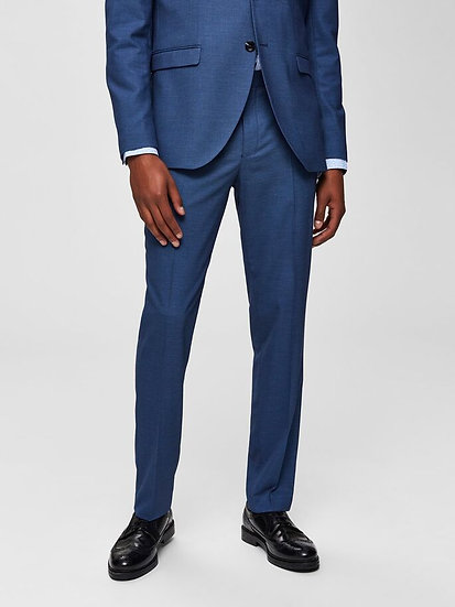 Selected Homme- Blue slim fit trouser - Classic dress trousers