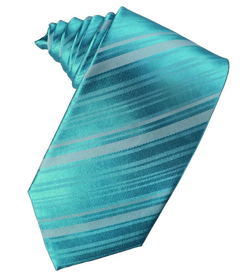 Striped, Turquoise