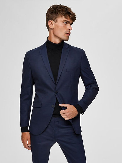 Selected Homme- Navy- RECYCLED POLYESTER