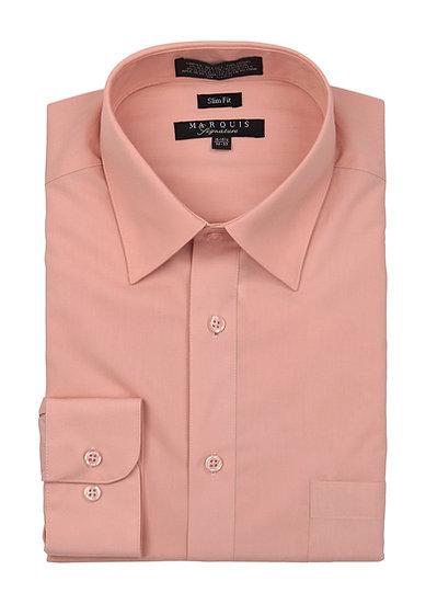 Dusty Rose Slim Fit Dress Shirt