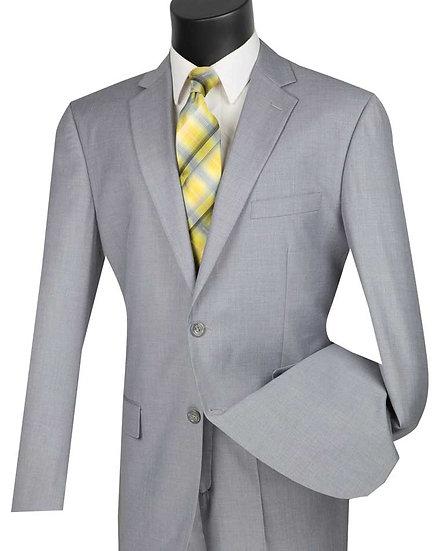 Classic fit, Solid 2 piece suit