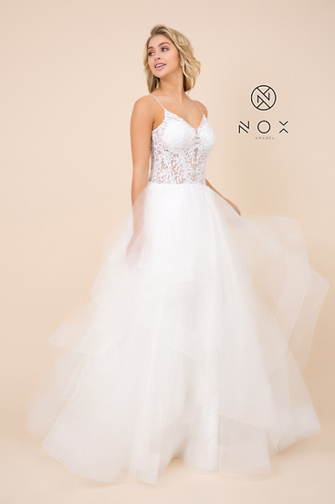 Lace & Tulle Wedding Dress