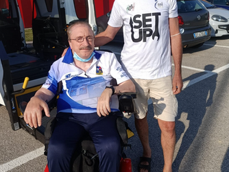 Maurizio Bozzetto medaglia d'oro