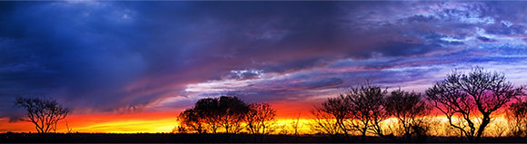 Fiery Sky - Pembrokeshire