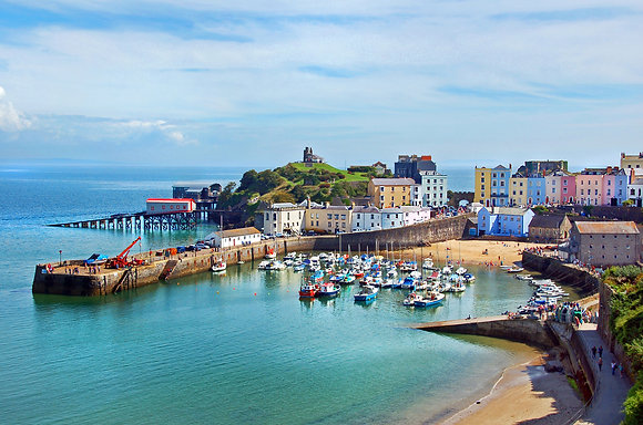 View of Tenby Harbour