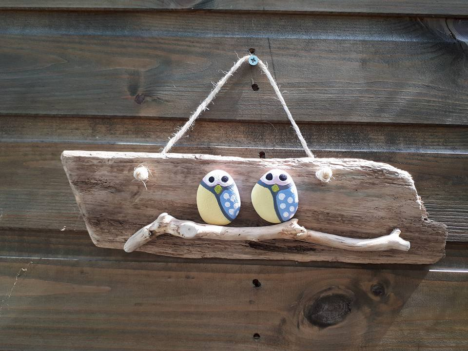 Owls on Wood