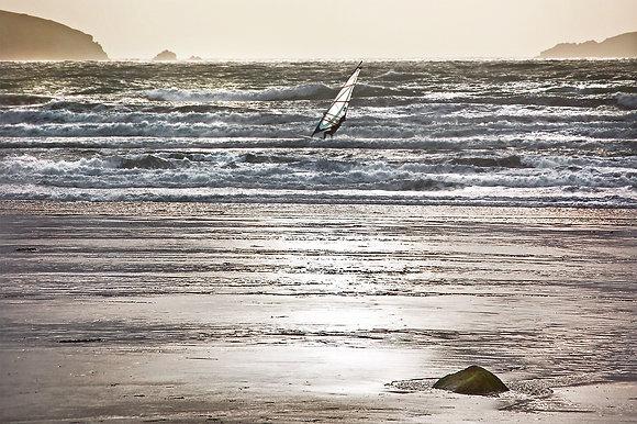 Wind Surfer, Broad Haven - Pembrokeshire