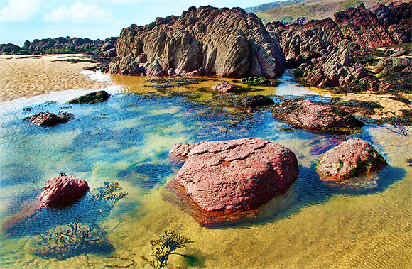 Rock Pool at Freshwater West
