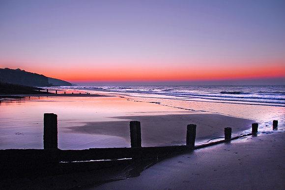 Sunrise Across Amroth