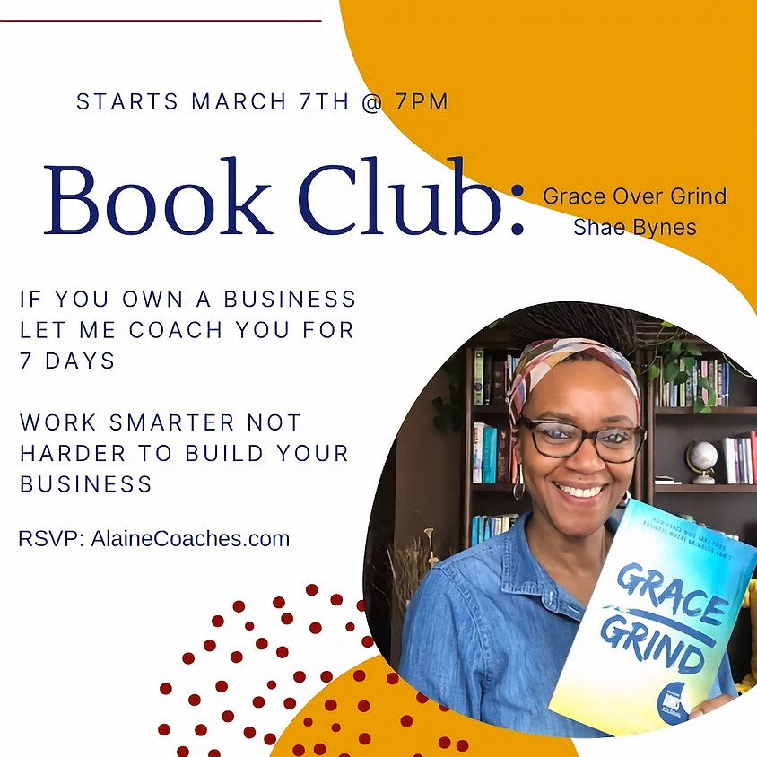 Book Club: Grace over Grind