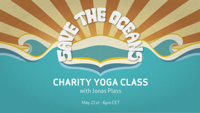 Save the Oceans. Charity Yoga Class