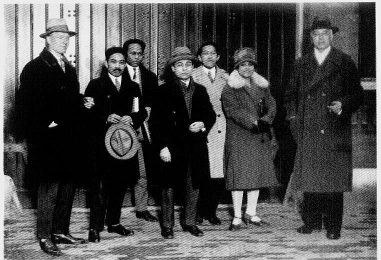 Moh. Hatta saat dibebaskan dari tahanan pada 1927  Koleksi Museum Sumpah Pemuda