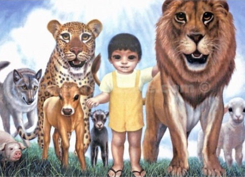 Authentic Margaret Keane Poster- A Mere Little Boy