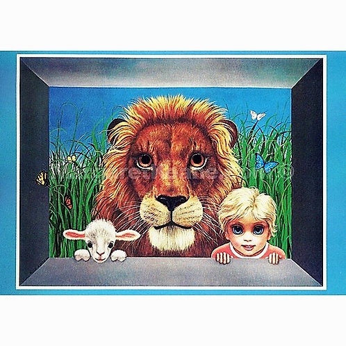 Magnet- Jungle Mischief - Margaret Keane