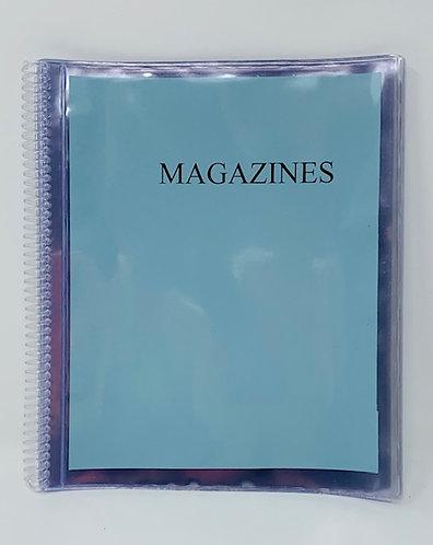Clear Spiral Magazine Holder