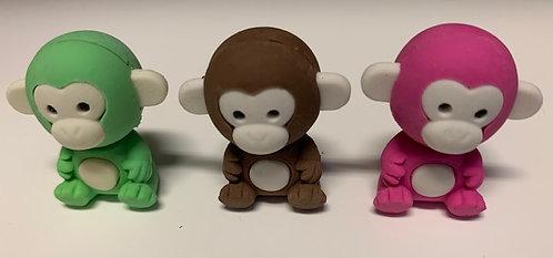 Animal Erasers- Monkeys, Seals