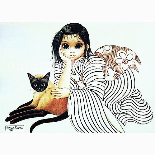 Magnet- Ladies In Waiting - Margaret Keane